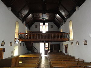 Bassussarry - The Interior of the Church