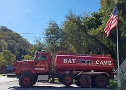 Bat Cave Fire Engine (tanker truck).