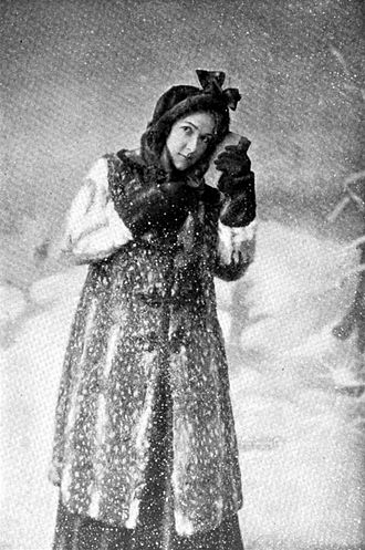 The Girl of the Golden West (play) - Blanche Bates in The Girl of the Golden West (1905)