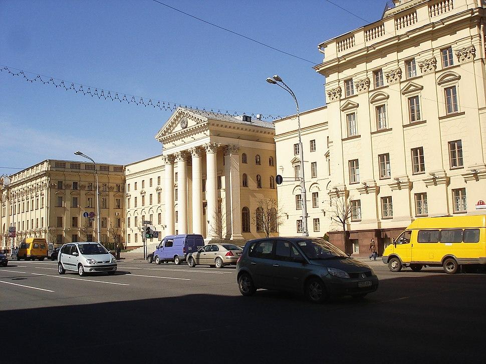 Batiment du KBG a Minsk