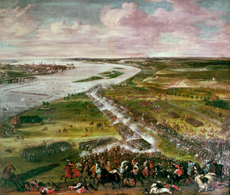 Crossing of the Düna - Crossing of the Düna 1701 by Daniel Stawert