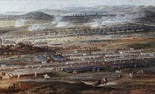 Battle of Roucoux painting