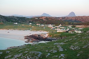 Achmelvich - Image: Bay of Alchmelvich (April 2008)