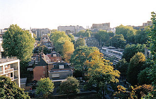 Bayswater area in London, England