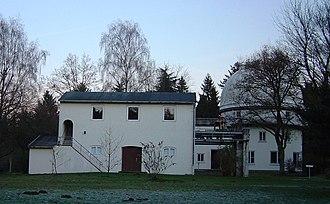 Bernhard Schmidt - Schmidt Museum at Hamburg Observatory, Bergedorf