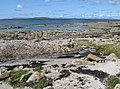 Beach and island view - geograph.org.uk - 1425594.jpg