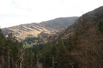 Shehy Mountains - Shehy Mountains as seen from Gougane Barra