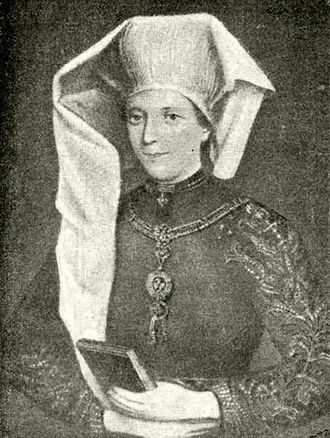George, Margrave of Brandenburg-Ansbach - Beatrice de Frangepan, George's first wife.