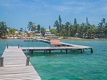Beautiful pier Caye Caulker Belize (21401259271).jpg