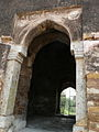Begumpuri Masjid South gate detail (3009477185).jpg