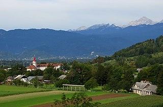 Begunje na Gorenjskem Place in Upper Carniola, Slovenia