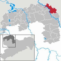 Beilrode – Mappa