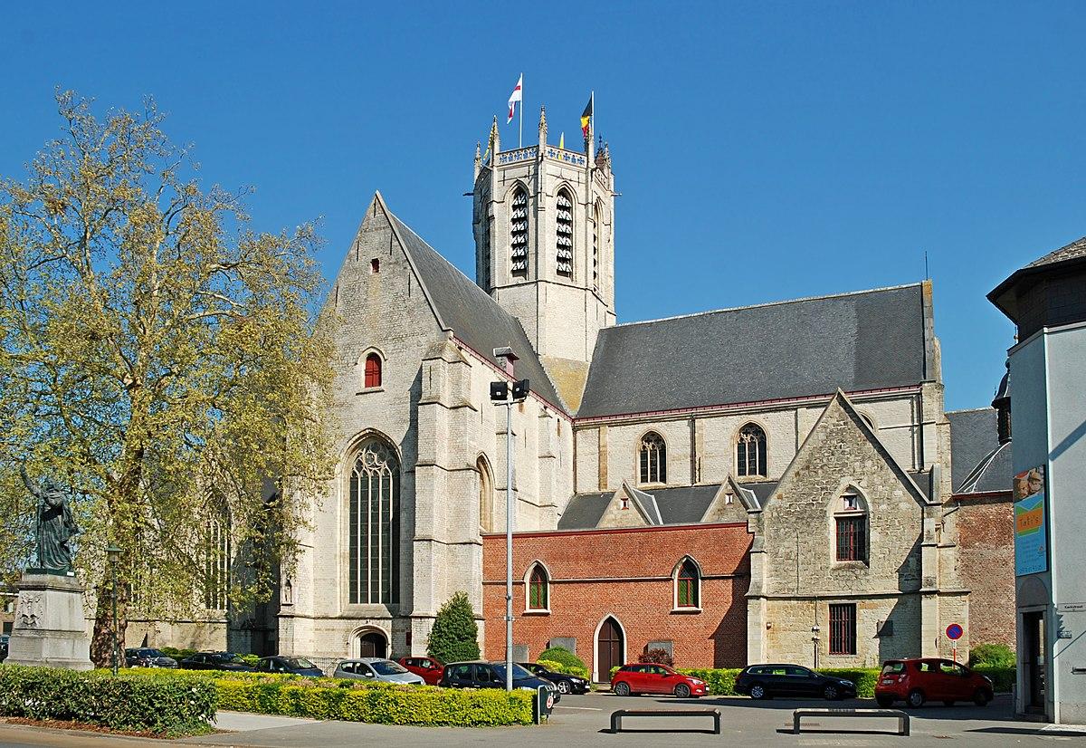 Portail Des Flandres Salome Église notre-dame de termonde — wikipédia