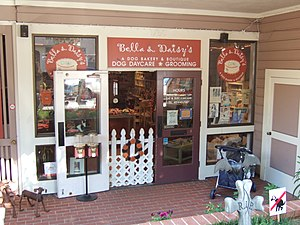 Union Street (San Francisco) - Image: Bella & Daisy's Dog bakery, boutique, daycare, and grooming, San Francisco