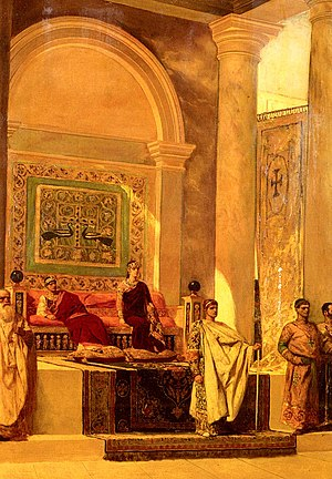 Benjamin-Constant-The Throne Room In Byzantium