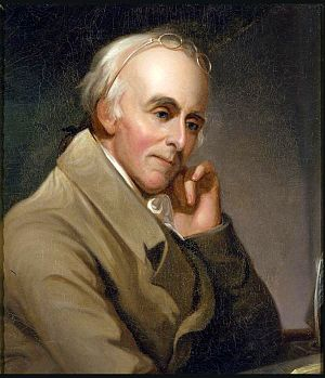 Benjamin Rush - Portrait by Charles Willson Peale, circa 1818