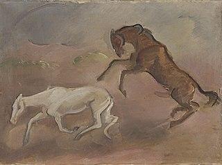Hengst und Stute