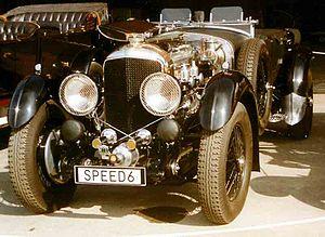 Bentley 6½-Litre Speed Six Tourer
