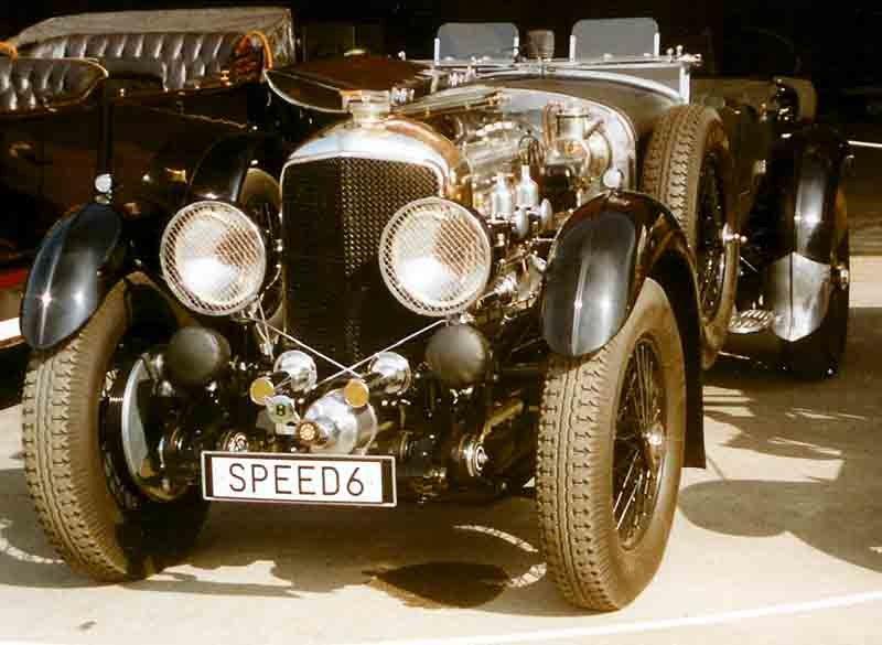 Bentley 6,5-Litre Speed Six Tourer