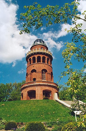Rugard - The Ernst Moritz Arndt Tower on the Rugard