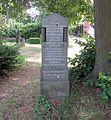 Berlin, Kreuzberg, Bergmannstrasse 45-47, Friedhof IV der Jerusalems- und Neuen Kirche, Grab Paul Wieczorek.jpg
