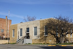National Register of Historic Places listings in Green Lake County, Wisconsin - Image: Berlin Wisconsin Post Office