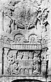 Bharhut relief with Diamond throne and Mahabodhi Temple around the Boddhi Tree.jpg