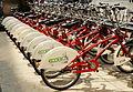 Bicicletas EcoBici en la Ciudad de México..JPG