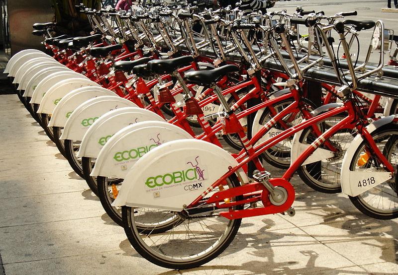 File:Bicicletas EcoBici en la Ciudad de México..JPG