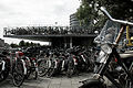 Bicycles in the streets of Amsterdam, Netherlands, Northern Europe.jpg