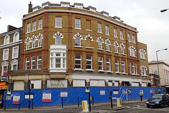 Biddy Mulligan's pub bombing - Biddy Mulligan's pub in 2008, some time after closing down