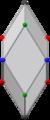 Bilinski dodecahedron, ortho x.png
