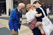 Bill Cunningham at Fashion Week photographed by Jiyang Chen.jpg