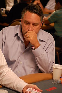 Bill Edler American poker player