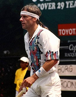 Björn Borg By C Thomas (originally posted to Flickr as img183) [CC-BY-2.0 (www.creativecommons.org/licenses/by/2.0)], via Wikimedia Commons