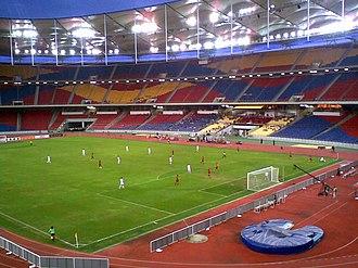 Bukit Jalil National Stadium - Image: Bjalilinterior