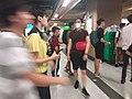 Black dark night 香港反對逃犯條例 Anti-HK bill demo against extradition bill protect MTR Station visitors July 2019 SSG 17.jpg