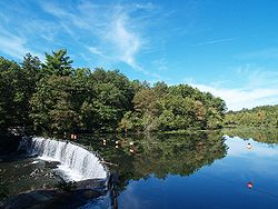 Rolling Dam on the Blackstone River