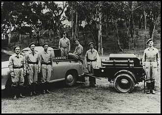 South Australian Country Fire Service - Blackwood Emergency Fire Service in 1949