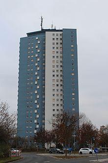 Blaues Hochhaus Schweinfurt – Wikipedia
