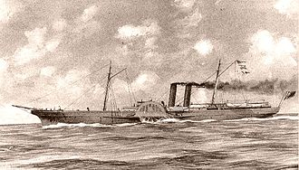 Blockade runners of the American Civil War - Image: Blockade runner 2 A Dvance
