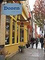 Bloggers walking into Dozen Bake Shop.jpg