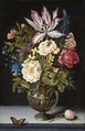 Blomsterstycke. Ambrosius Bosschaert. 3322 - Hallwylska museet - 86681.tif
