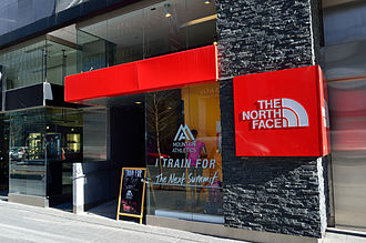 The North Face - The North Face store on Bloor Street, Toronto, Ontario, Canada
