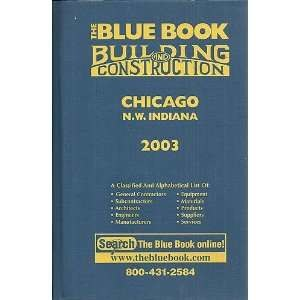 Blue book - Chicago Construction Blue Book from 2003