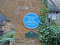 Blue Plaque at the Manor House - geograph.org.uk - 273647.jpg
