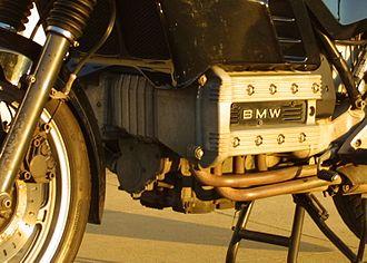 BMW K100 - K100 engine closeup