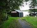 Boathouse on Kendoon Loch. - geograph.org.uk - 517878.jpg