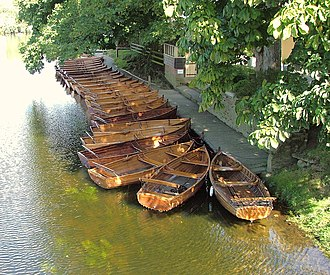 Dedham, Essex - Image: Boats Dedham, Essex
