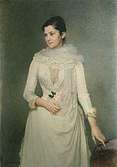 Portrait of countess Varvara Bobrinskaya